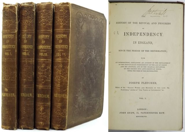 THE HISTORY OF THE REVIVAL AND PROGRESS OF INDEPENDENCY IN ENGLAND,