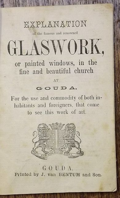 EXPLANATION OF THE FAMOUS AND RENOWNED GLASSWORK,