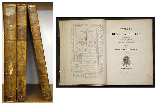 CATALOGUE DES MANUSCRITS