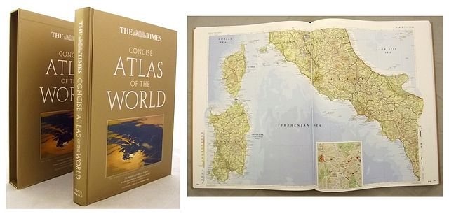 THE TIMES CONCISE ATLAS OF THE WORLD.
