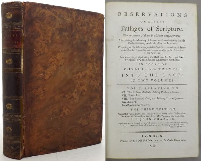 OBSERVATIONS ON DIVERS PASSAGES OF SCRIPTURE.
