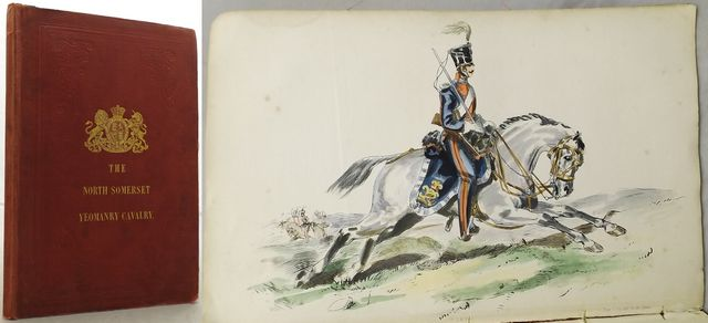 THE NORTH SOMERSET REGIMENT OF YEOMANRY CAVALRY 1850.