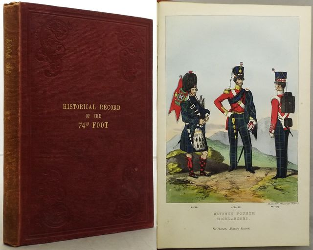 HISTORICAL RECORD OF THE SEVENTY-FOURTH REGIMENT (HIGHLANDERS);