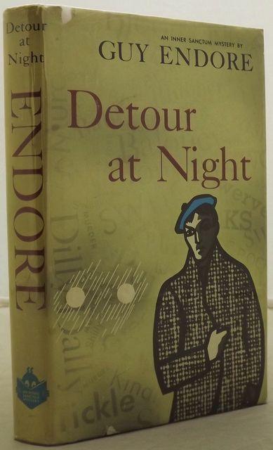 DETOUR AT NIGHT.