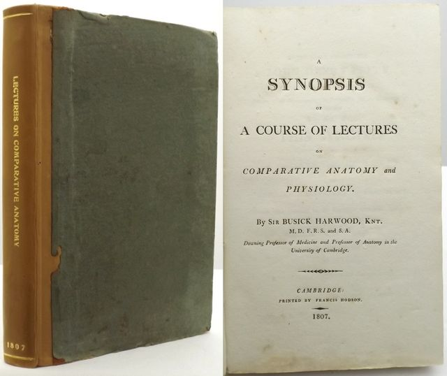A SYNOPSIS OF A COURSE OF LECTURES