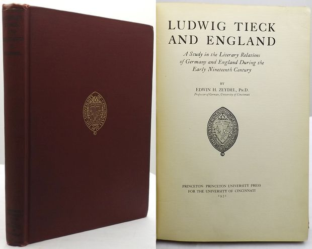 LUDWIG TIECK AND ENGLAND.