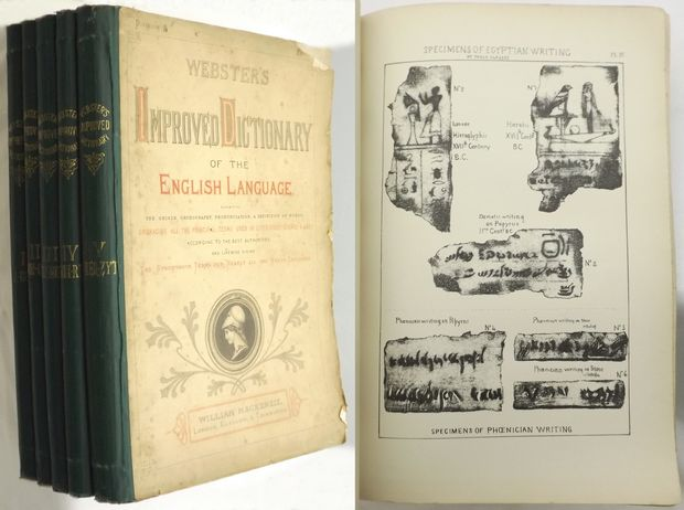 IMPROVED DICTIONARY OF THE ENGLISH LANGUAGE,