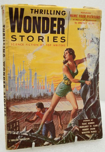 THRILLING WONDER STORIES.