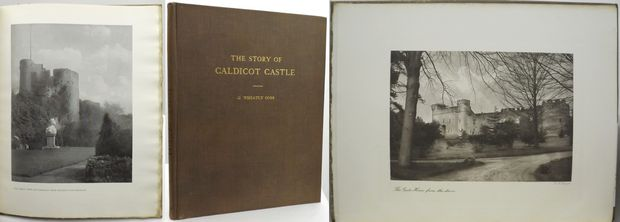 THE STORY OF CALDICOT CASTLE.