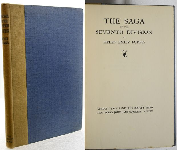 THE SAGA OF THE SEVENTH DIVISION.