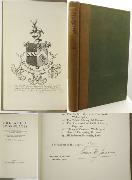 THE WELSH BOOK-PLATES