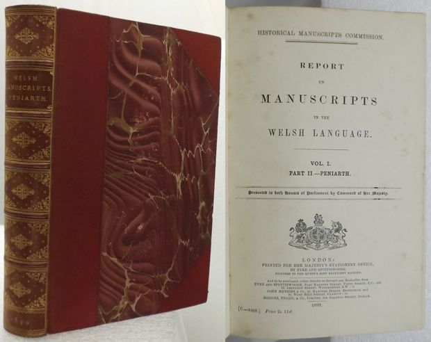 REPORT ON MANUSCRIPTS IN THE WELSH LANGUAGE.