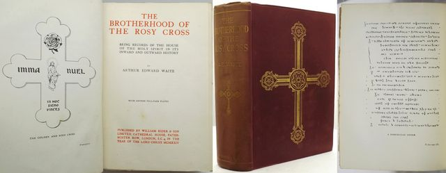 THE BROTHERHOOD OF THE ROSY CROSS.