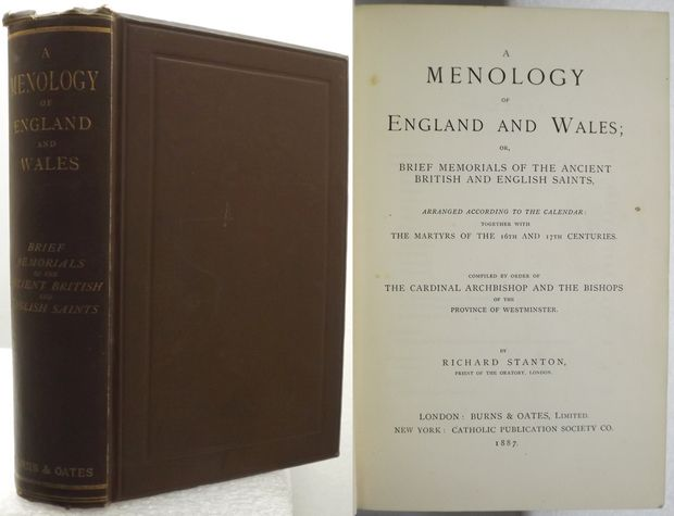 A MENOLOGY OF ENGLAND AND WALES;