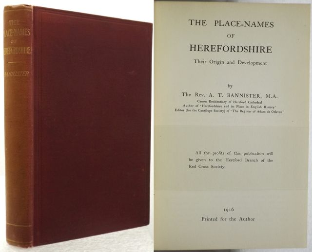 THE PLACE-NAMES OF HEREFORDSHIRE
