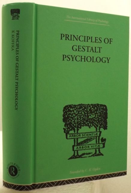 PRINCIPLES OF GESTALT PSCYHOLOGY.
