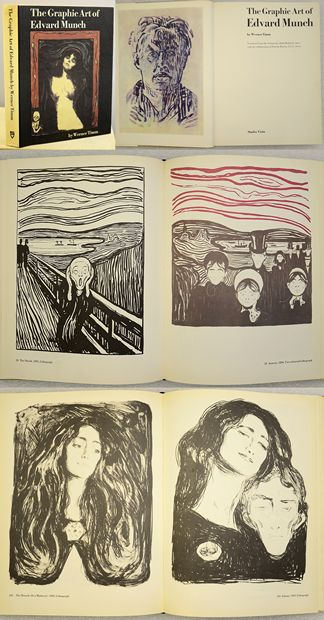 THE GRAPHIC ART OF EDVARD MUNCH.