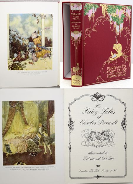 THE FAIRY TALES OF CHARLES PERRAULT.