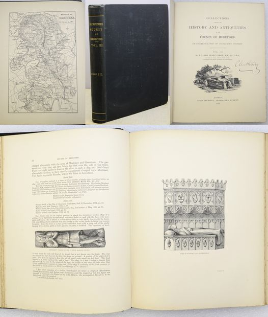 COLLECTIONS TOWARDS THE HISTORY AND ANTIQUITIES OF THE COUNTY OF HEREFORD.